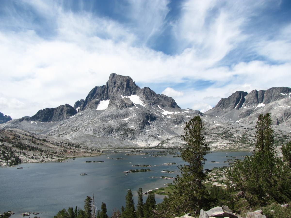 Thousand Island Lake in Ansel Adams Wilderness, California